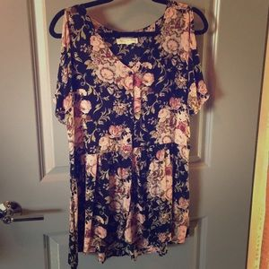 Urban Outfitters Floral Print Mini Dress